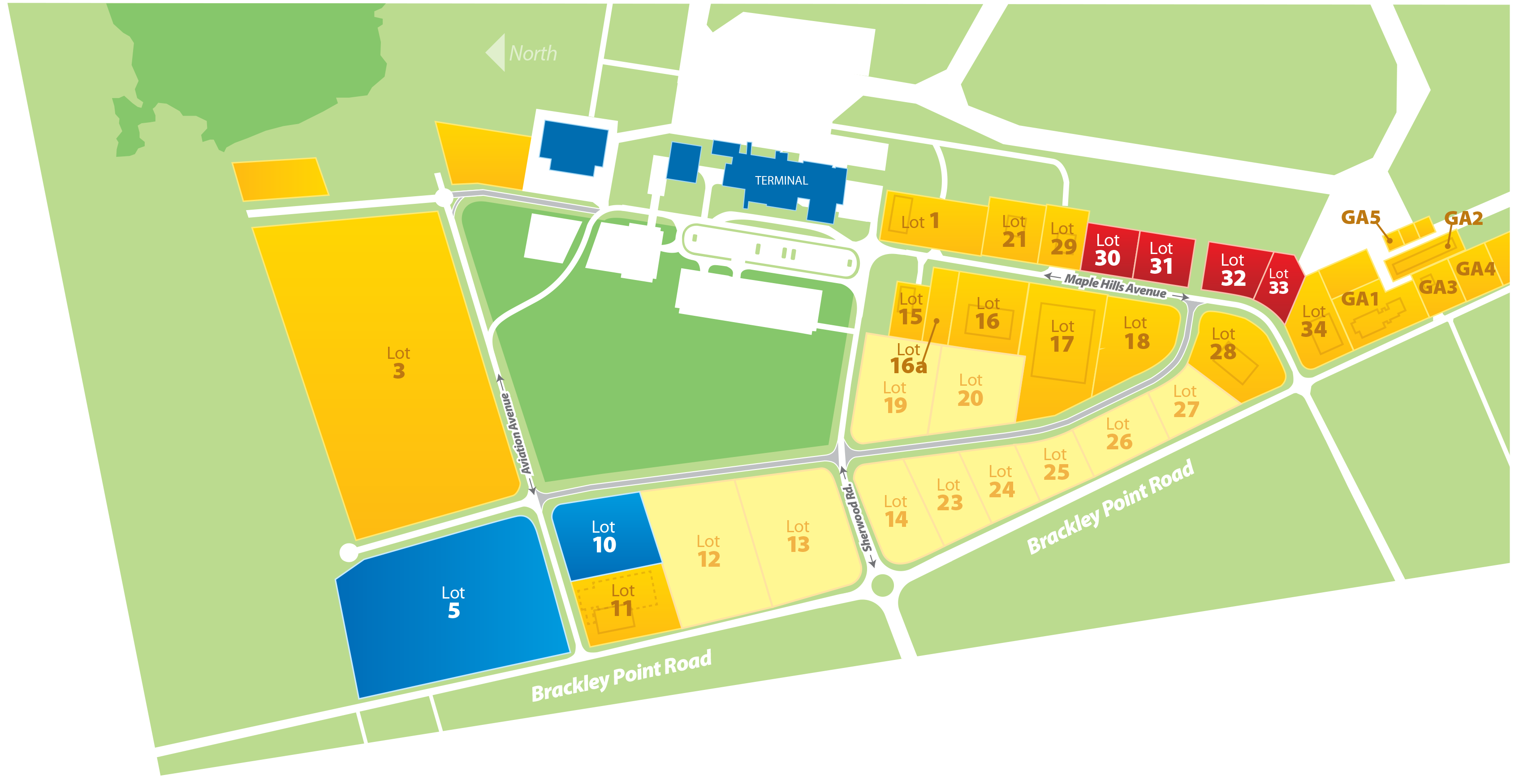 YYG Business Park Map June 2020